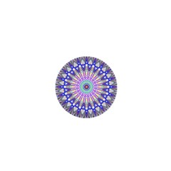 Prismatic Line Star Flower Rainbow 1  Mini Magnets by Alisyart