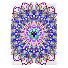 Prismatic Line Star Flower Rainbow Apple Ipad 3/4 Hardshell Case (compatible With Smart Cover) by Alisyart