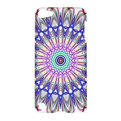 Prismatic Line Star Flower Rainbow Apple Ipod Touch 5 Hardshell Case by Alisyart