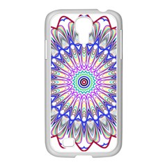 Prismatic Line Star Flower Rainbow Samsung Galaxy S4 I9500/ I9505 Case (white) by Alisyart