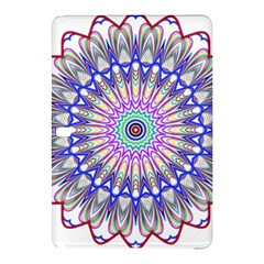 Prismatic Line Star Flower Rainbow Samsung Galaxy Tab Pro 10 1 Hardshell Case by Alisyart