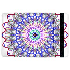 Prismatic Line Star Flower Rainbow Ipad Air 2 Flip by Alisyart
