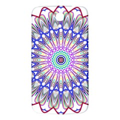 Prismatic Line Star Flower Rainbow Samsung Galaxy Mega I9200 Hardshell Back Case by Alisyart