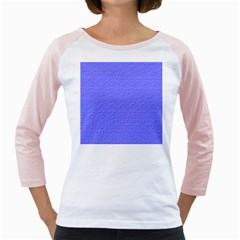 Ripples Blue Space Girly Raglans by Alisyart
