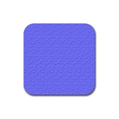Ripples Blue Space Rubber Coaster (square)  by Alisyart