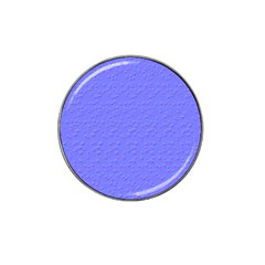 Ripples Blue Space Hat Clip Ball Marker by Alisyart