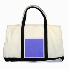 Ripples Blue Space Two Tone Tote Bag by Alisyart