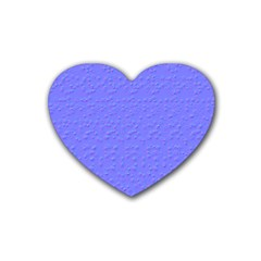 Ripples Blue Space Heart Coaster (4 Pack)  by Alisyart