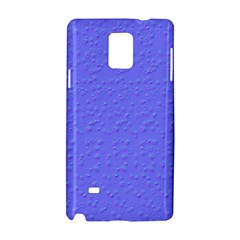 Ripples Blue Space Samsung Galaxy Note 4 Hardshell Case by Alisyart
