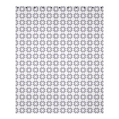 Violence Head On King Purple White Flower Shower Curtain 60  X 72  (medium)  by Alisyart