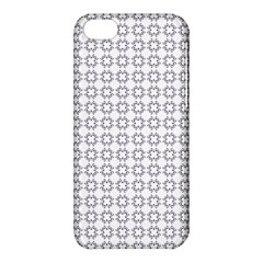 Violence Head On King Purple White Flower Apple Iphone 5c Hardshell Case by Alisyart