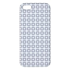 Violence Head On King Purple White Flower Iphone 5s/ Se Premium Hardshell Case by Alisyart