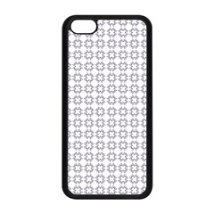 Violence Head On King Purple White Flower Apple Iphone 5c Seamless Case (black) by Alisyart