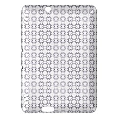 Violence Head On King Purple White Flower Kindle Fire Hdx Hardshell Case by Alisyart