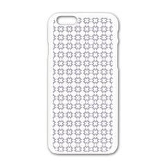 Violence Head On King Purple White Flower Apple Iphone 6/6s White Enamel Case by Alisyart