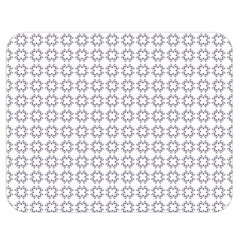 Violence Head On King Purple White Flower Double Sided Flano Blanket (medium)  by Alisyart