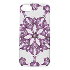 Frame Flower Star Purple Apple Iphone 5s/ Se Hardshell Case by Alisyart