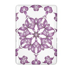 Frame Flower Star Purple Samsung Galaxy Tab 2 (10 1 ) P5100 Hardshell Case  by Alisyart