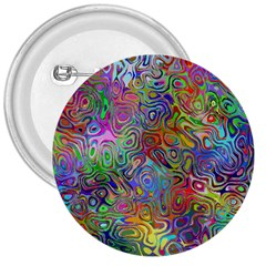 Glass Rainbow Color 3  Buttons by Alisyart