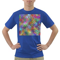 Glass Rainbow Color Dark T Shirt by Alisyart
