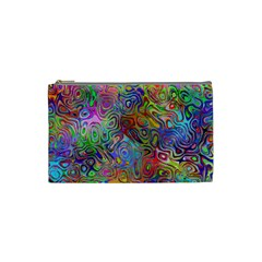 Glass Rainbow Color Cosmetic Bag (small)  by Alisyart