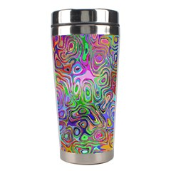 Glass Rainbow Color Stainless Steel Travel Tumblers by Alisyart
