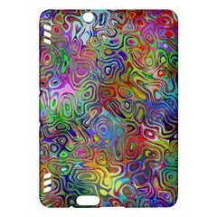 Glass Rainbow Color Kindle Fire Hdx Hardshell Case by Alisyart