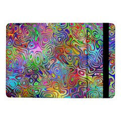 Glass Rainbow Color Samsung Galaxy Tab Pro 10 1  Flip Case by Alisyart