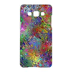 Glass Rainbow Color Samsung Galaxy A5 Hardshell Case  by Alisyart