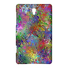 Glass Rainbow Color Samsung Galaxy Tab S (8 4 ) Hardshell Case  by Alisyart