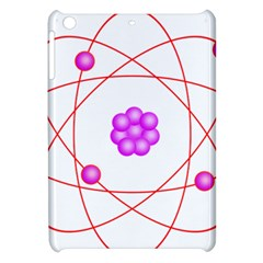 Atom Physical Chemistry Line Red Purple Space Apple Ipad Mini Hardshell Case by Alisyart