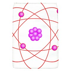 Atom Physical Chemistry Line Red Purple Space Flap Covers (s)  by Alisyart