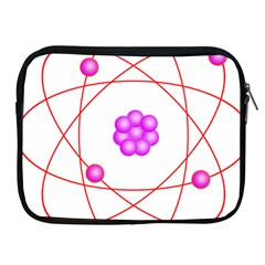 Atom Physical Chemistry Line Red Purple Space Apple Ipad 2/3/4 Zipper Cases by Alisyart