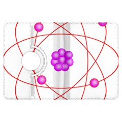 Atom Physical Chemistry Line Red Purple Space Kindle Fire Hdx Flip 360 Case by Alisyart
