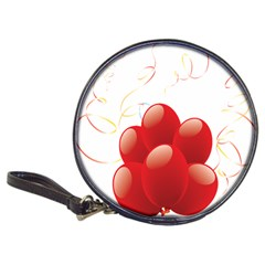 Balloon Partty Red Classic 20 Cd Wallets by Alisyart