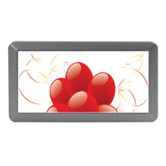 Balloon Partty Red Memory Card Reader (mini) by Alisyart