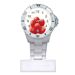Balloon Partty Red Plastic Nurses Watch by Alisyart