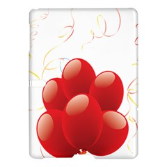 Balloon Partty Red Samsung Galaxy Tab S (10 5 ) Hardshell Case  by Alisyart