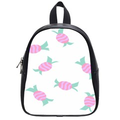 Candy Pink Blue Sweet School Bags (small)  by Alisyart