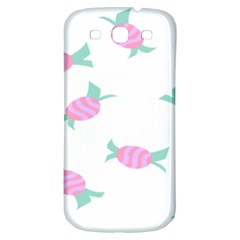 Candy Pink Blue Sweet Samsung Galaxy S3 S Iii Classic Hardshell Back Case by Alisyart