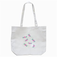 Candy Pink Blue Sweet Tote Bag (white) by Alisyart