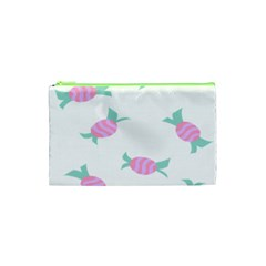 Candy Pink Blue Sweet Cosmetic Bag (xs) by Alisyart