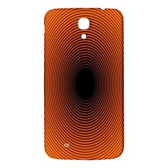 Abstract Circle Hole Black Orange Line Samsung Galaxy Mega I9200 Hardshell Back Case by Alisyart