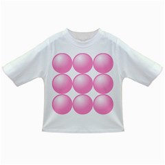 Circle Pink Infant/toddler T Shirts by Alisyart