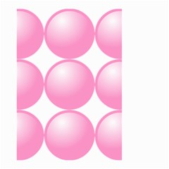 Circle Pink Small Garden Flag (two Sides) by Alisyart