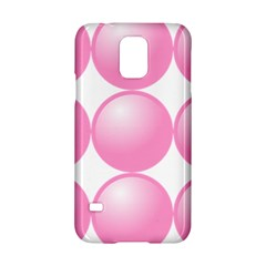 Circle Pink Samsung Galaxy S5 Hardshell Case  by Alisyart