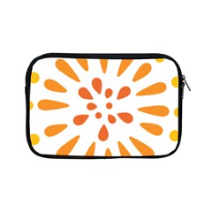 Circle Orange Apple Ipad Mini Zipper Cases by Alisyart