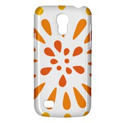 Circle Orange Galaxy S4 Mini by Alisyart