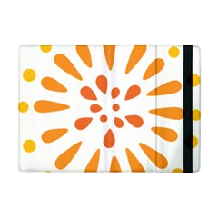 Circle Orange Ipad Mini 2 Flip Cases by Alisyart
