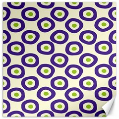 Circle Purple Green White Canvas 20  X 20   by Alisyart